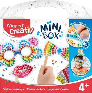 KIT CREATIV MINI BOX - MOSAICOS E ADESIVOS