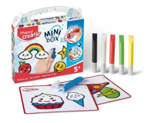 KIT CREATIV MINI BOX - ADESIVOS DIVERTIDOS
