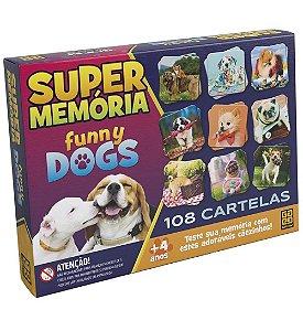 SUPER MEMÓRIA FUNNY DOGS