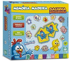MEMÓRIA DA GALINHA PINTADINHA 24 PEÇAS
