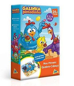 MEU PRIMEIRO QUEBRA CABEÇA - GALINHA PINTADINHA