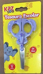 TESOURA ESCOLAR 13 CM - ELEFANTE