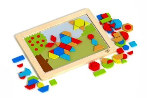 MAGNETIC PUZZLE SHAPES - TABULEIRO MAGNÉTICO