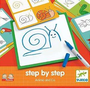 STEP BY STEP - PASSO A PASSO ANIMAIS