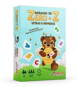 BARALHO DE ZERO A Z