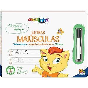 ESCREVA E APAGUE - LETRAS MAIÚSCULAS