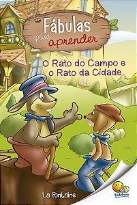 FÁBULAS PARA APRENDER: O RATO DO CAMPO E O RATO DA CIDADE