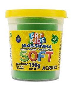 MASSINHA DE MODELAR SOFT VERDE - 150G
