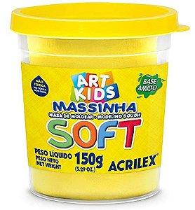 MASSINHA DE MODELAR SOFT AMARELO - 150G