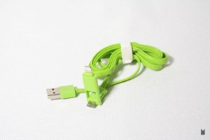 Cabo USB 2x1 - Iphone 5 e Micro USB