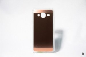 Case TPU Espelhada Rose Samsung Galaxy J3