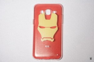 Case TPU Custom Samsung Galaxy J5 Iron Man