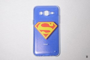 Case TPU Custom Samsung Galaxy J5 Superman