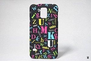 Case Rígido Samsung Galaxy S5 Letras