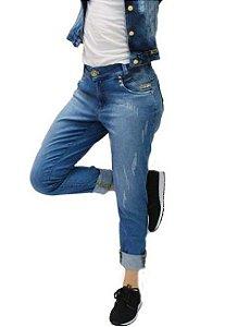 ad81d388e6 Calça Confort Boyfriend Edex Jeans