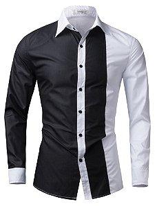 Camisa Slim Fit Masculina Importada