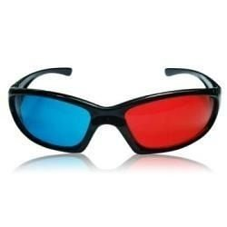 Óculos 3d Em Plástico Ultra Resistente