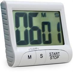 Timer e Cronômetro digital - Ref 7651 Incoterm