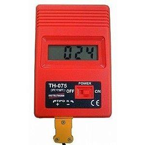 Termômetro digital portátil Mod: TH 075 Instrutherm