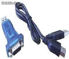 Cabo conversor serial Rs 232 p/ USB Mod: CRS 80 Instrutherm Utilizado em Dosimetro