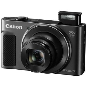 Câmera Canon Powershot SX-620HS Wifi 20.2 MP Zoom 25x - Preta