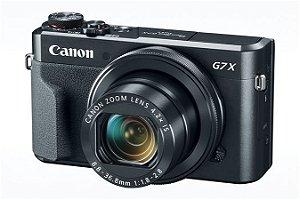 Câmera Canon Powershot G7 X Mark II 20.1MP Wi-Fi + Cartão de Memória Sandisk 64GB Classe 10