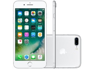 "iPhone 7 Plus 128GB 4G Tela de Retina 5.5"" Câm. 12MP + Selfie 7MP iOS 10"