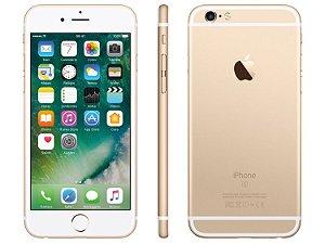 "iPhone 6s Plus 128GB 4G Tela de Retina 5.5"" Câm. 12MP + Selfie 7MP iOS 10"