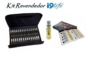 Kit Demonstrador i9Vip com 40 Amostras de Perfumes i9life