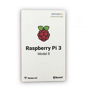 Raspberry Pi3 Model B Processador 1,2Ghz, 1Gb de Memória RAM Wi-fi e bluetooth