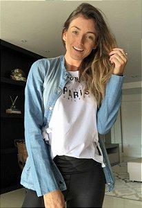 Casaco Parka Jeans