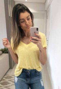 Blusa Podrinha Amarela