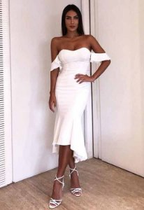 Vestido Ciganinha Branco
