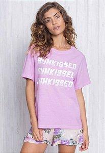 Camiseta Sun Kissed Lilás
