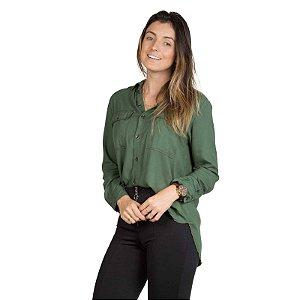 Camisa Botões Verde
