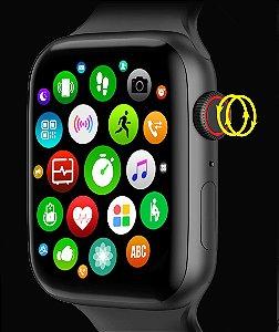 Smartwatch W506 Bluetooth Chamada Ecg Esportes Pedômetro Música Despertador Cronômetro Inducao
