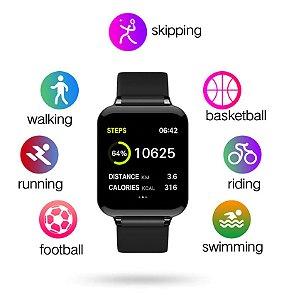 Smartwatch AW4 B57 Relógio Inteligente Pulseira Relógio Pressão Fitness IP67 Homens Mulheres Esporte