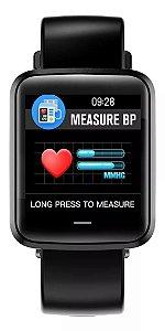 Smartwatch H19 Relógio Inteligente Pulseira Relógio Pressão Fitness IP67 Homens Mulheres Esporte