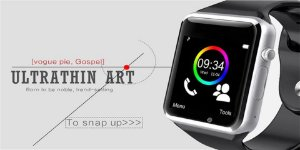 Smartwatch A1 Relógio Bluetooth Pedômetro Esporte Com Câmera SIM Pronto Entrega