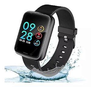 Relógio Smartwatch Alfawise H19 Inteligente Original Pronto Entrega