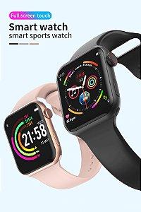 Smartwatch A5 Max F10 Relógio Inteligente CORES monitor de freqüência cardíaca pressão arterial  Pronto Entrega