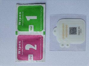 Pelicula de Proteção 44 mm para Relógios Smartwatch Iwo Max 2.0 Outros  Apple Watch serie 4 5 ...