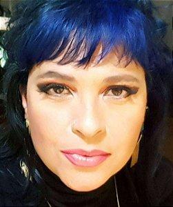 Brincos Esmeralda Verdadeira e Quartzo Cristalino Multifacetado com Franja Slim Scandal