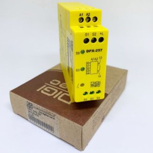 Relé de segurança para parada de emergência DPX-257 (T4), 24V.