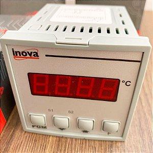 Controlador de temperatura digital INV-20201/J/RR - Inova