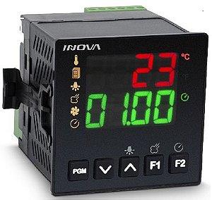 Controlador de  tempo e temperatura digital INV-20011/J - Inova ( NOVO MODELO YB1-11-J-H)