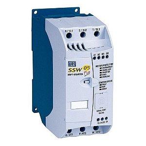 Soft Starter SSW050085T2246PPZ, 30CV, 220Vca - WEG