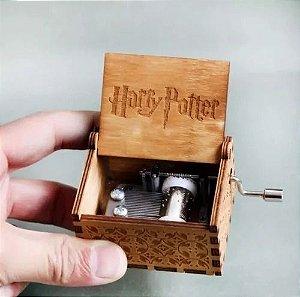 Caixinha De Música Tema Harry Potter