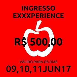 Erotika Exxxperience Ingresso VIP para todos os dias do evento