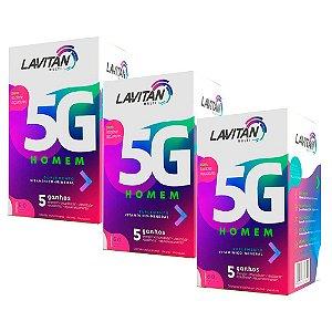 Lavitan 5G Homem - 3 unidades de 60 Comprimidos - Cimed